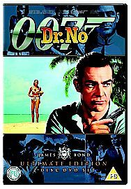 007 Dr. No (DVD, 2006)   2-Disc Set)Ultimate Edition (USED)