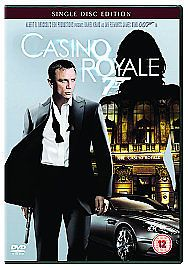 007 Casino Royale (DVD, 2007) 1 DISC EDITION  USED