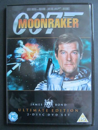 007 Moonraker (DVD  2006) ULTIMATE EDITION 2-DISC SET (USED )