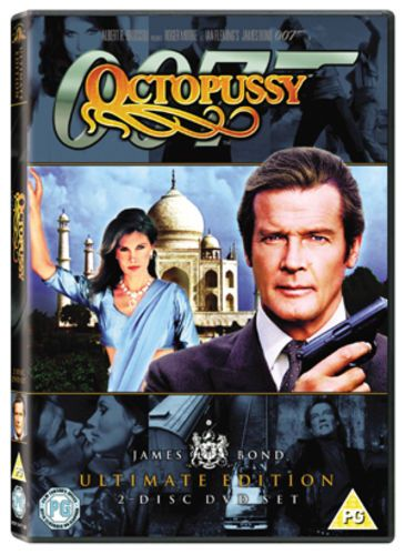 007 Octopussy DVD (2006) ULTIMATE EDITION 2 DISC DVD SET (USED)
