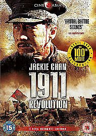 1911 Revolution DVD (2012) Jackie Chan (NEW N SEALED)