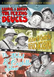 3 Classic Comedies Of The Silver Screen - The Flying Deuces  / Africa Scream (dvd 2004) USED