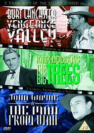 3 Tough Guys Of The Silver Screen - Vengeance Valley / The Big Trees / Man From Utah (DVD 2004) NEW