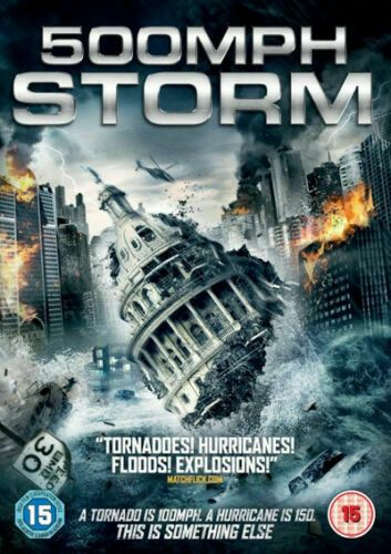 500 MPH Storm 2013 (DVD 2017) NEW N SEALED