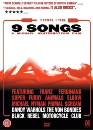 9 Songs DVD (2005) Kieran O'Brien (USED)