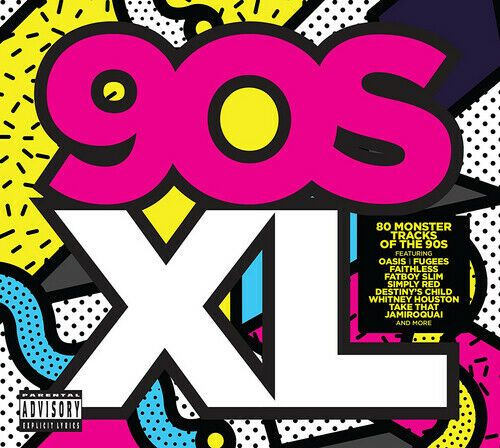 90s XL ( 4 DISC BOX SET 2017) NEW N SEALED
