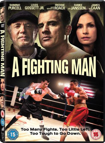 A FIGHTING MAN Dominic Purcell-Louis Gosset Jr.  (DVD 2014) NEW & SEALED