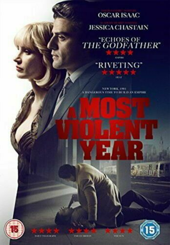A Most Violent Year 2014 (DVD 2015) NEW N SEALED