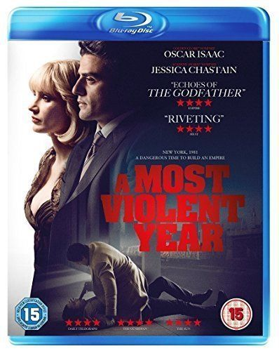 A Most Violent Year with Oscar Isaac New (Blu-ray 2015)  NEW N SEALED