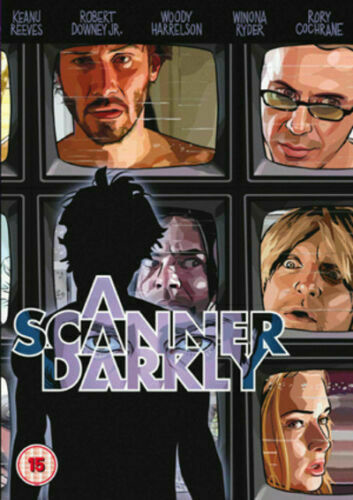 A Scanner Darkly [DVD 2006] USED