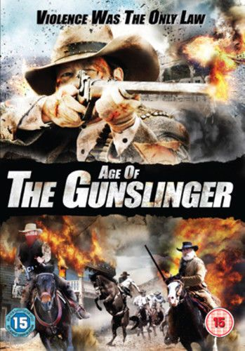 Age of the Gunslinger DVD (2010) Angus Macfadyen (USED)