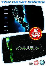 Aliens 1996 / Alien Resurrection 2000( 2 DISC DVD SET 2007 ) NEW N SEALED