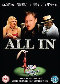 ALL IN (DVD 2008) JAMES RUSSO- BRAND NEW SEALED