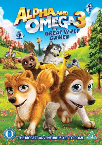Alpha and Omega - The Great Wolf Games (DVD 2014 )  New & Sealed