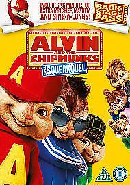 Alvin And The Chipmunks 2 - The Squeakquel (DVD, 2010) USED