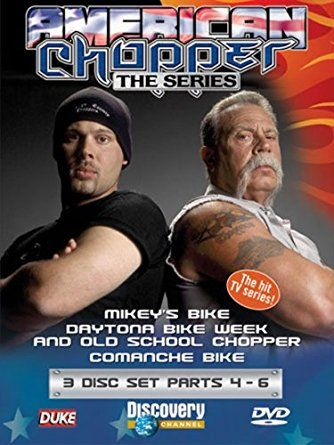 American Chopper: Parts 4-6 [DVD 2004] USED