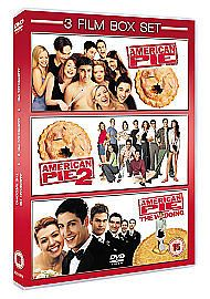AMERICAN PIE * AMERICAN PIE 2 * AMERICAN PIE THE WEDDING -  3 DVD BOX SET 2013 NEW N SEALED