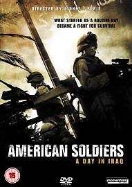 American Soldiers - A Day in Iraq DVD 2006 (NEW N SEALED)