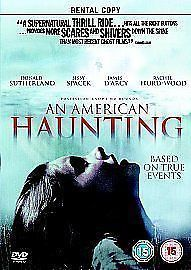 An American Haunting DVD (2006) RENTAL COPY NEW N SEALED