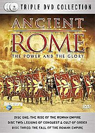 ANCIENT ROME THE POWER AND THE GLORY (3 X DVD  2007) BOX SET NEW AND SEALED