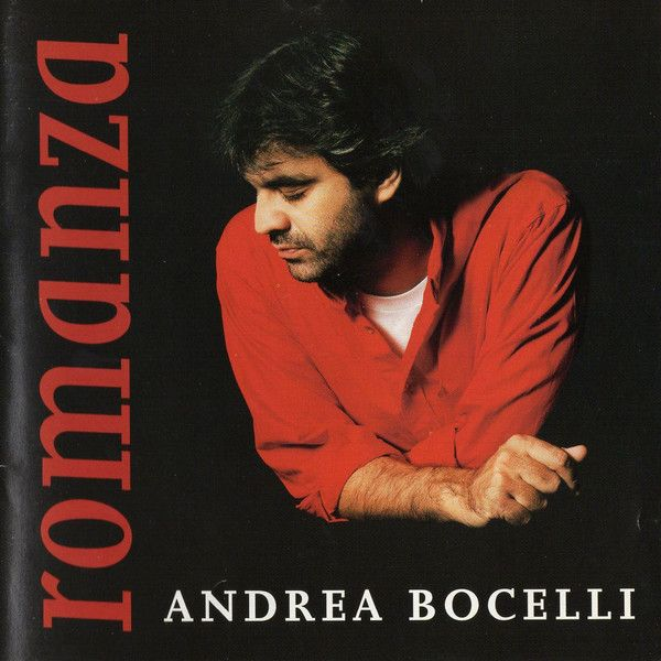 Andrea Bocelli ‎– Romanza (CD 1996) USED