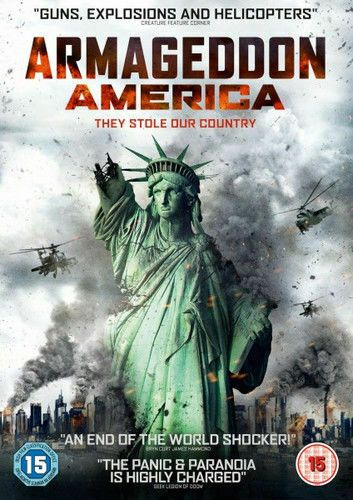 ARMAGEDDON AMERICA 2015 (DVD 2018) NEW N SEALED