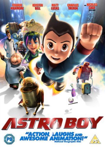 Astro Boy DVD (2010) David Bowers (USED)