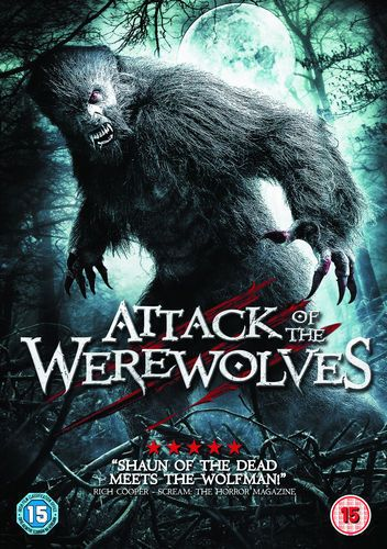 Attack Of The Werewolves (DVD, 2012)-NEW N SEALED