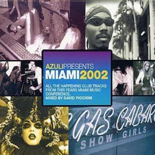 Azuli Presents Miami 2002 CD (2002) USED