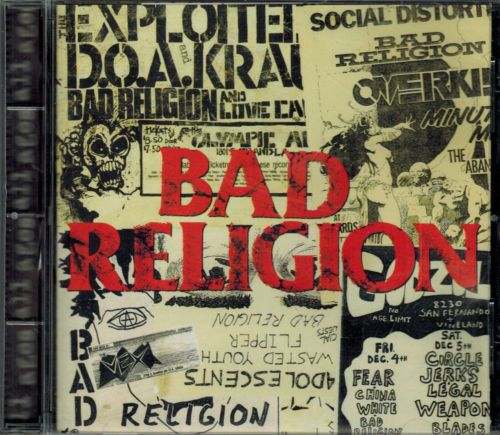 BAD RELIGION All Ages  (CD 1995) USED