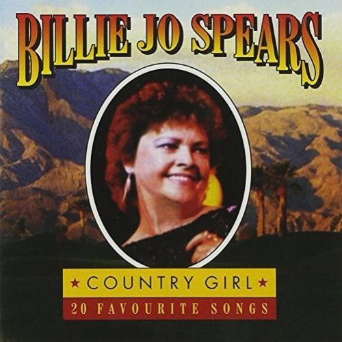BILLIE JO SPEARS - COUNTRY GIRL - 20 FAVOURITE SONGS ( CD 1995) USED
