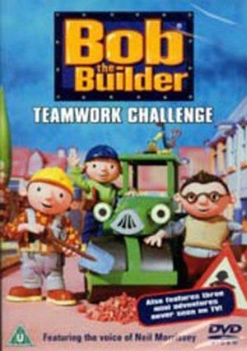 Bob the Builder - Teamwork Challenge - (DVD 2003) NEW N SEALED