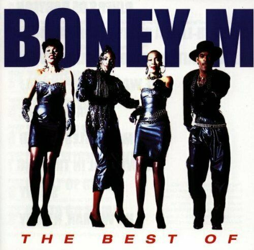 BONEY M - THE BEST OF  ( CD 1997) USED