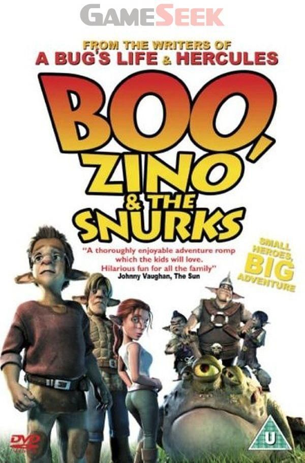 BOO, ZINO AND THE SNURKS (DVD 2005) NEW N SEALED