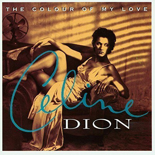 Céline Dion - Colour of my love ( CD 1993) USED