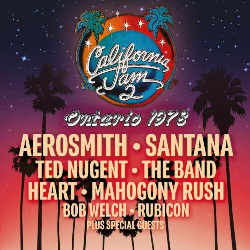 California Jam 2 Ontario 1978 (3 DISC BOXSET 2017) NEW N SEALED