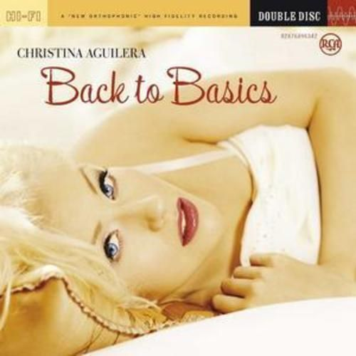 CHRISTINA AGUILERA - BACK TO BASICS ( DOUBLE DISC 2006) USED