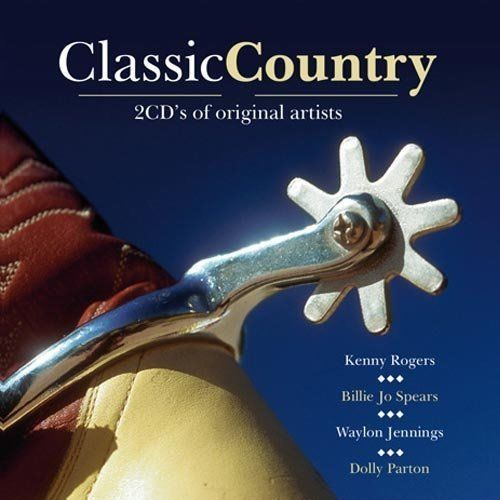 CLASSIC COUNTRY - 2CD'S ORIGINAL ARTISTS (2007) USED