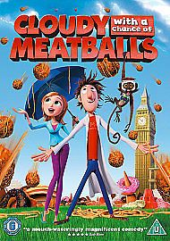 Cloudy With A Chance Of Meatballs (DVD, 2010) USED