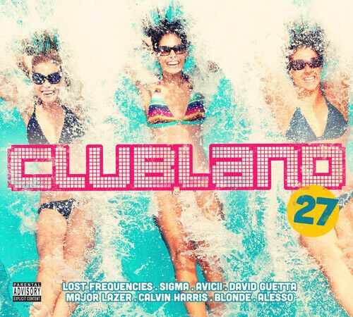 Clubland 27  ( 2 DISC DIGI-PACK 2015) NEW N SEALED