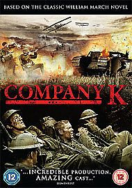 Company K 2005 ( DVD 2014 New & Sealed
