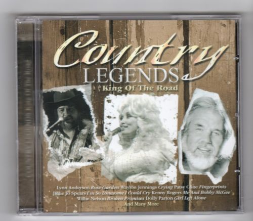 Country Legends, King Of The Road - 2005 CD (NEW N SEALED