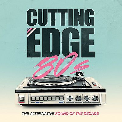 Cutting Edge 80s: The Alternative Sound of the Decade CD BOXSET 2015 (NEW SEALED)