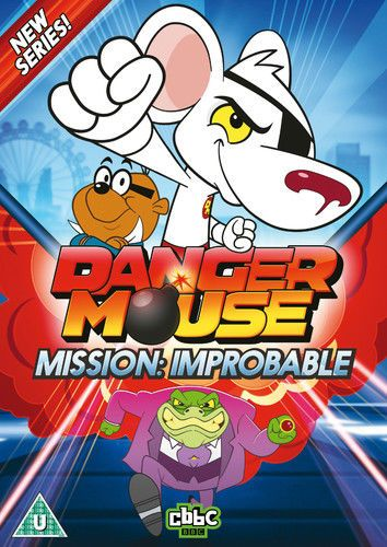 Danger Mouse: Mission Improbable DVD (2015) Alexander  Armstrong (NEW N SEALED)