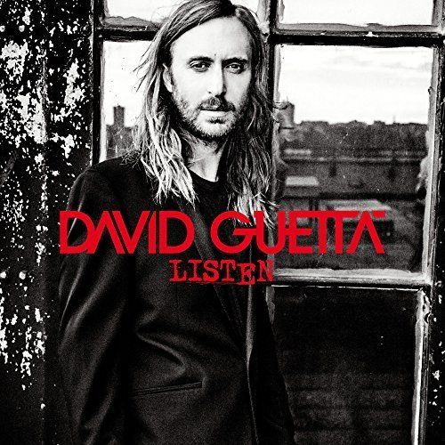 DAVID GUETTA - LISTEN, CD ALBUM.2014 USED