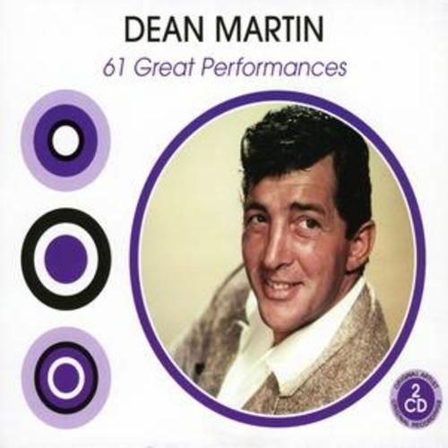 Dean Martin : 61 Great Performances CD (2005) USED