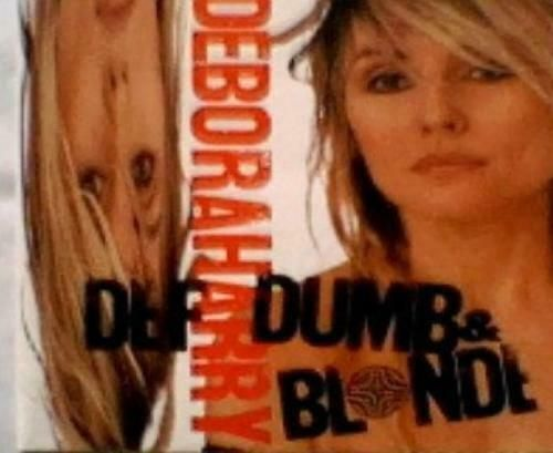 Deborah Harry ‎– Def, Dumb, & Blonde ( CD 1989) USED