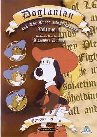 Dogtanian And The Three Muskehounds Vol.4 - Episodes 21-26 (DVD, 2004) USED