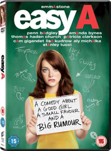 Easy A DVD (2011) USED