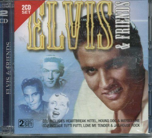 ELVIS & FRIENDS (  2 CD SET 2007) USED